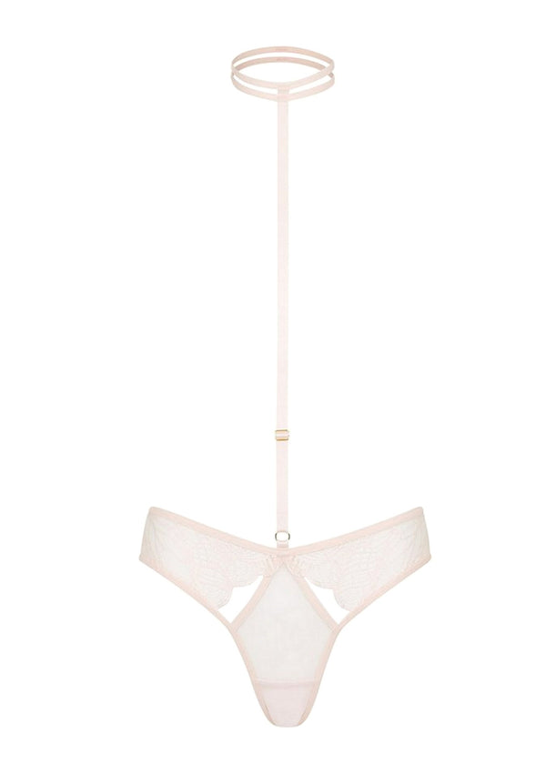 Emerson (Pink) Harness Brief-Bottoms-Bluebella-AvecAmourLingerie