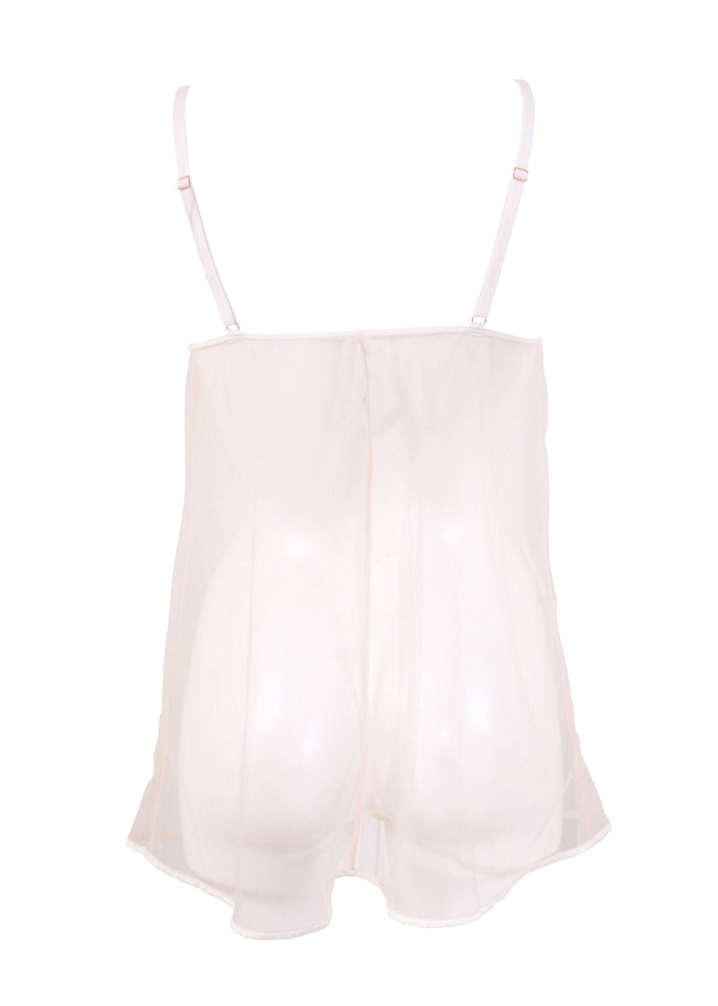 London (White/Rose Dust) Chemise-Bodywear-Bluebella-AvecAmourLingerie