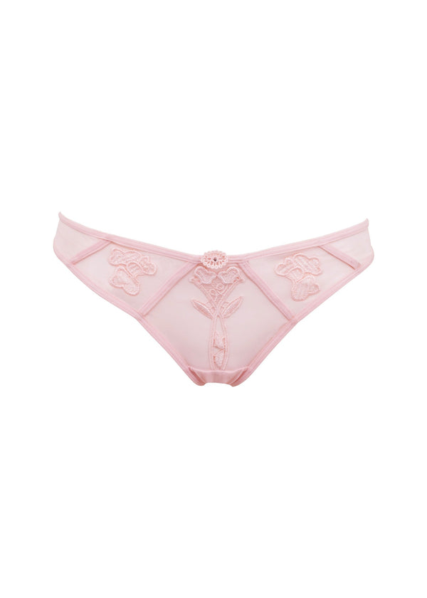Nova (Pale Pink) Ouvert Brief-Bottoms-Bluebella-AvecAmourLingerie
