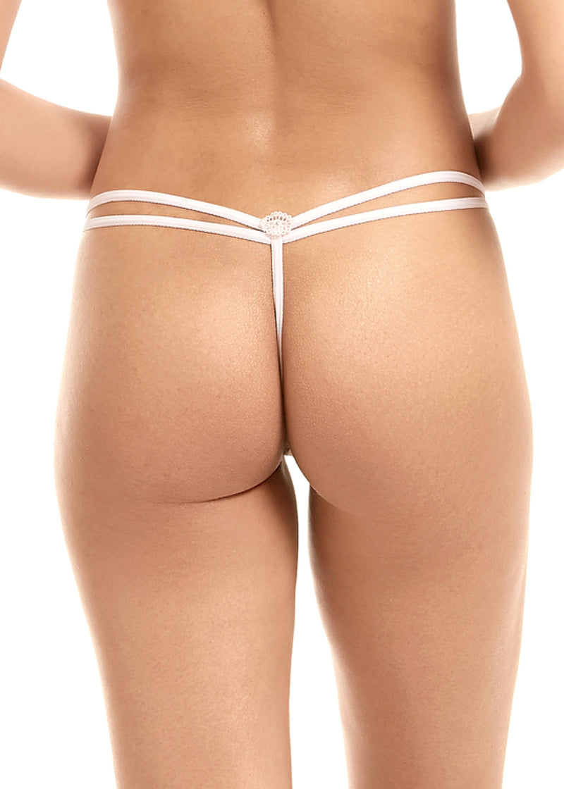 Nova (Pale Pink) Thong-Bottoms-Bluebella-AvecAmourLingerie
