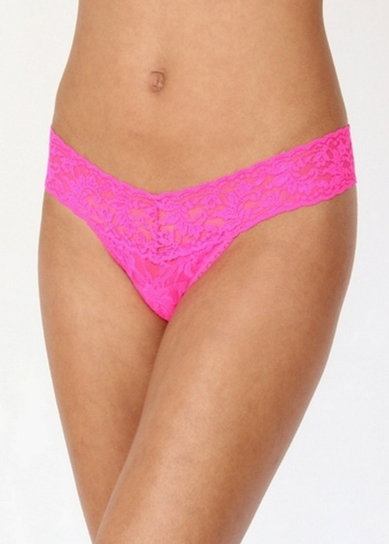 Signature Lace Low Rise Thong-Bottoms-Hanky Panky-AvecAmourLingerie