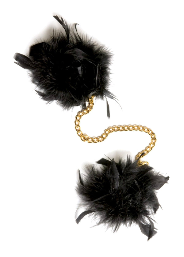 Maison Close Les Burlesques Feather Handcuffs | Bedroom Fun