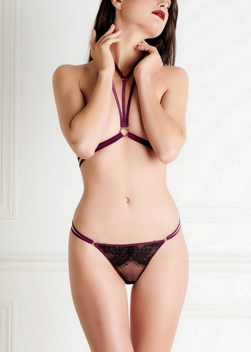 Coup De Foudre Harness-Bodywear-Maison Close-AvecAmourLingerie