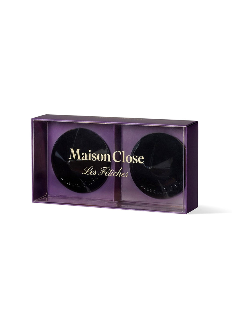 Maison Close Les Fetiches Black Nipple Pasties - Avec Amour Lingerie Boutique
