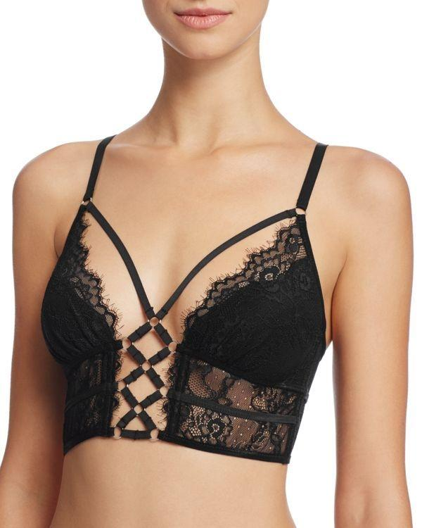 Constellation Bralette (Black)-Bras-Thistle & Spire-AvecAmourLingerie