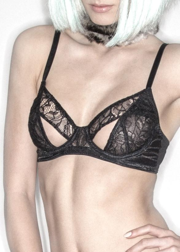 Lascivious Anais Cut Out Bra - Avec Amour Lingerie Boutique