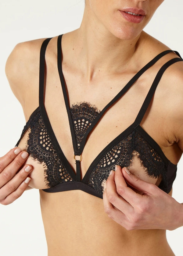 Madame Rêve Open Triangle Bra