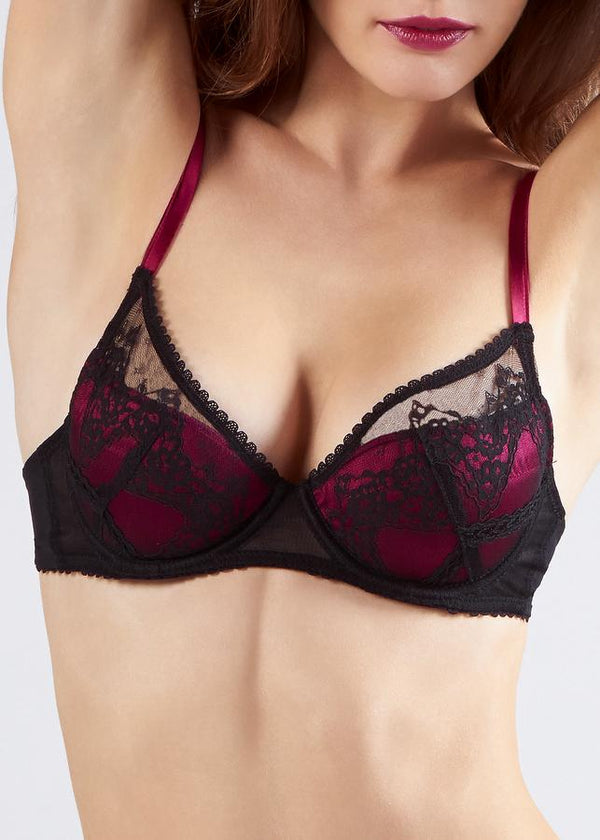 Oleander Fully Padded Super Plunge-Bras-Mimi Holliday-AvecAmourLingerie