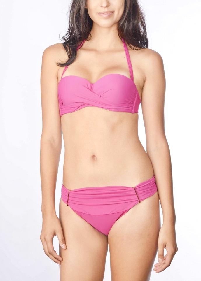 Solids Bandeau Top & Brief-Swimwear-Cia Maritima-AvecAmourLingerie