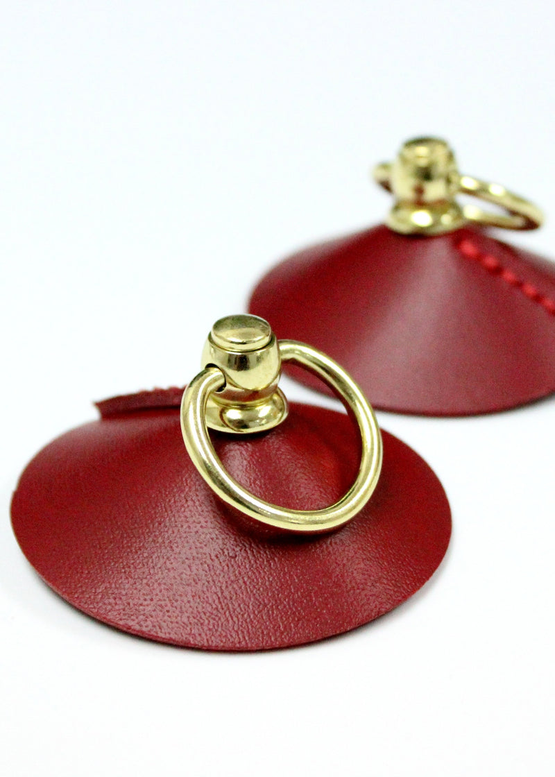 Mini Ring Nipplets (Red)-Accessories-ELF Zhou-AvecAmourLingerie
