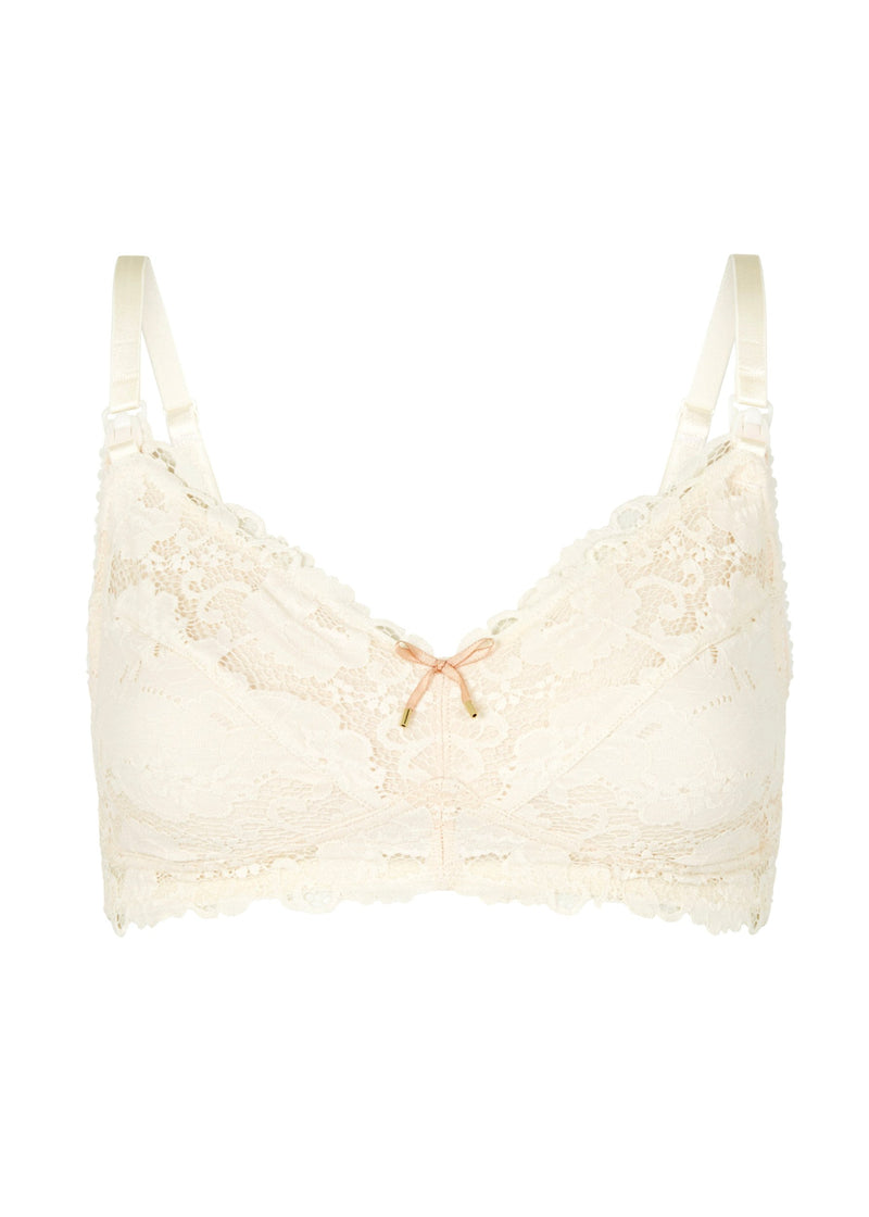 Made In Eden Maternity Bra (Scallop Shell)-Bras-Heidi Klum Intimates-AvecAmourLingerie