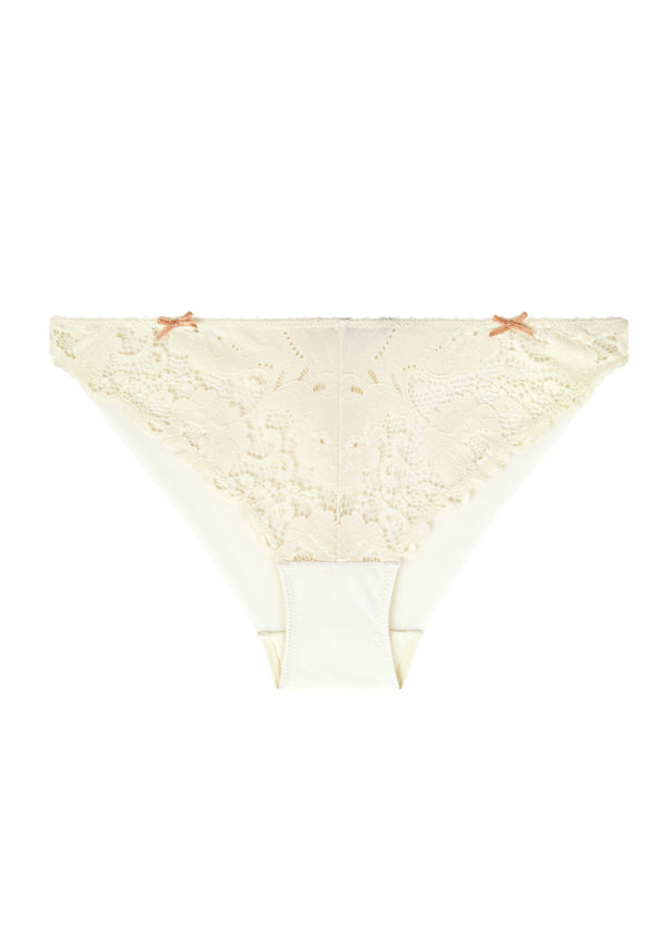 Made In Eden Bikini Brief (Scallop Shell)-Bottoms-Heidi Klum Intimates-AvecAmourLingerie