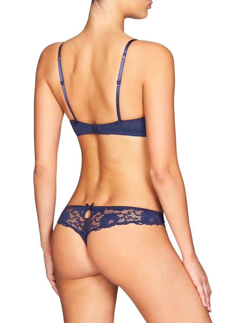 Made In Eden (Peacoat) Thong Brief-Bottoms-Heidi Klum Intimates-AvecAmourLingerie