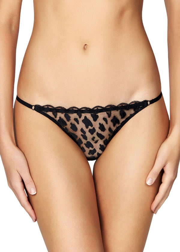 Leopard Sunset Thong Brief-Bottoms-Heidi Klum Intimates-AvecAmourLingerie