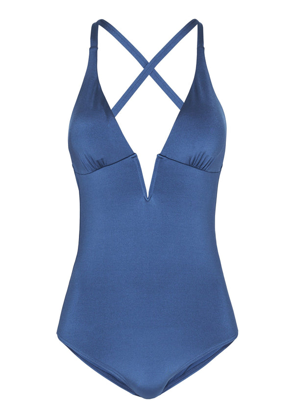Coco Azure One Piece Padded Swimwear (Jewel)-Swimwear-Heidi Klum Swim-AvecAmourLingerie