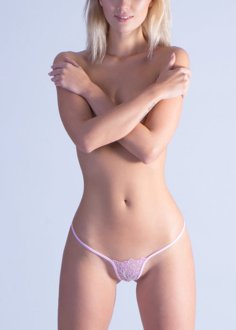 Pinky Sexy G-String-Bottoms-Lucky Cheeks-AvecAmourLingerie