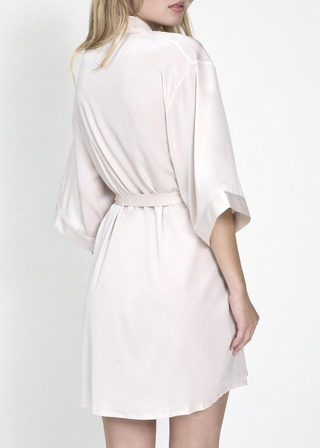 Lovebird Midi Dressing Gown-Bodywear-Mimi Holliday-AvecAmourLingerie