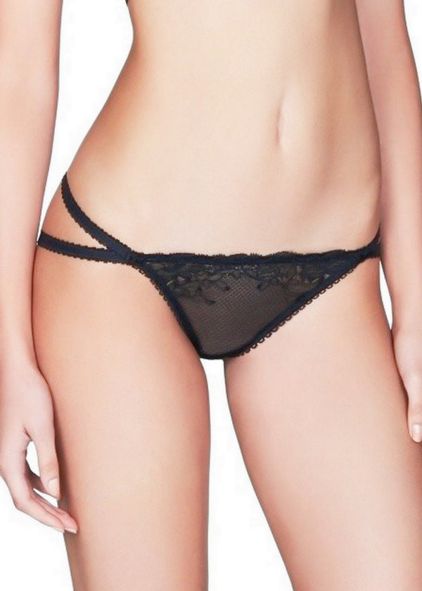 Olga Ouvert Mini Brief-Bottoms-Pleasure State-AvecAmourLingerie