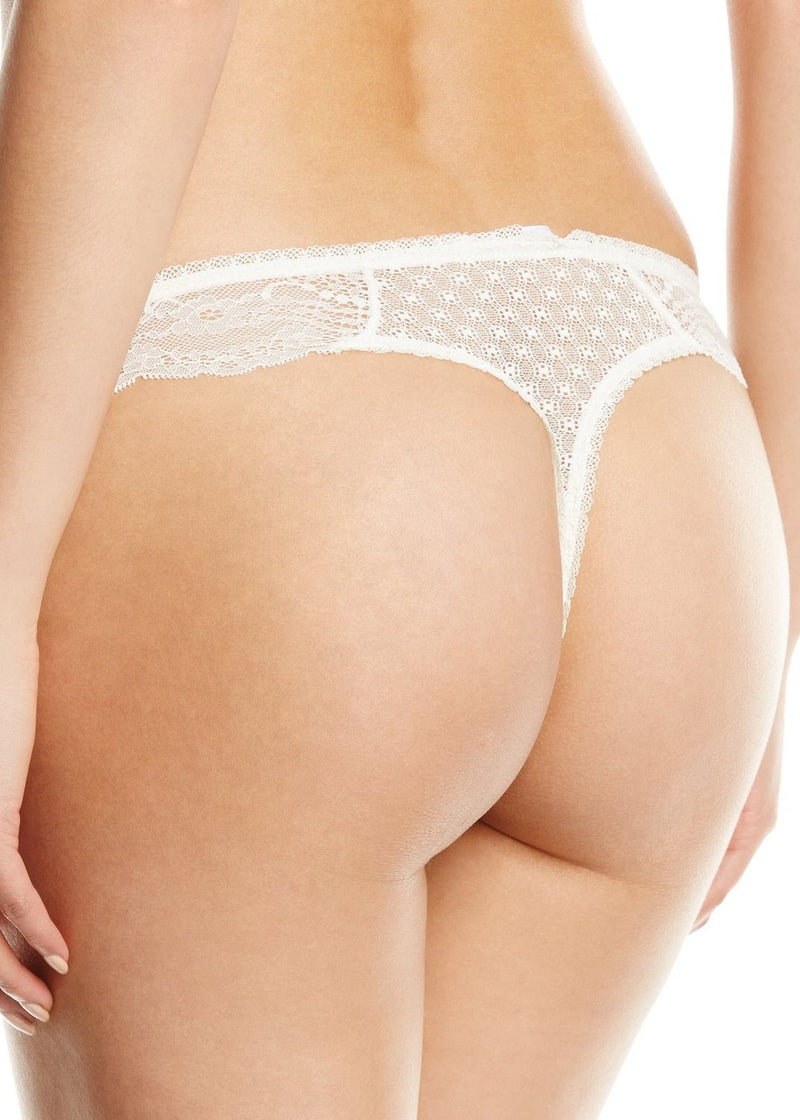 Bryony June (ECRU) Thong-Bottoms-Pleasure State-AvecAmourLingerie