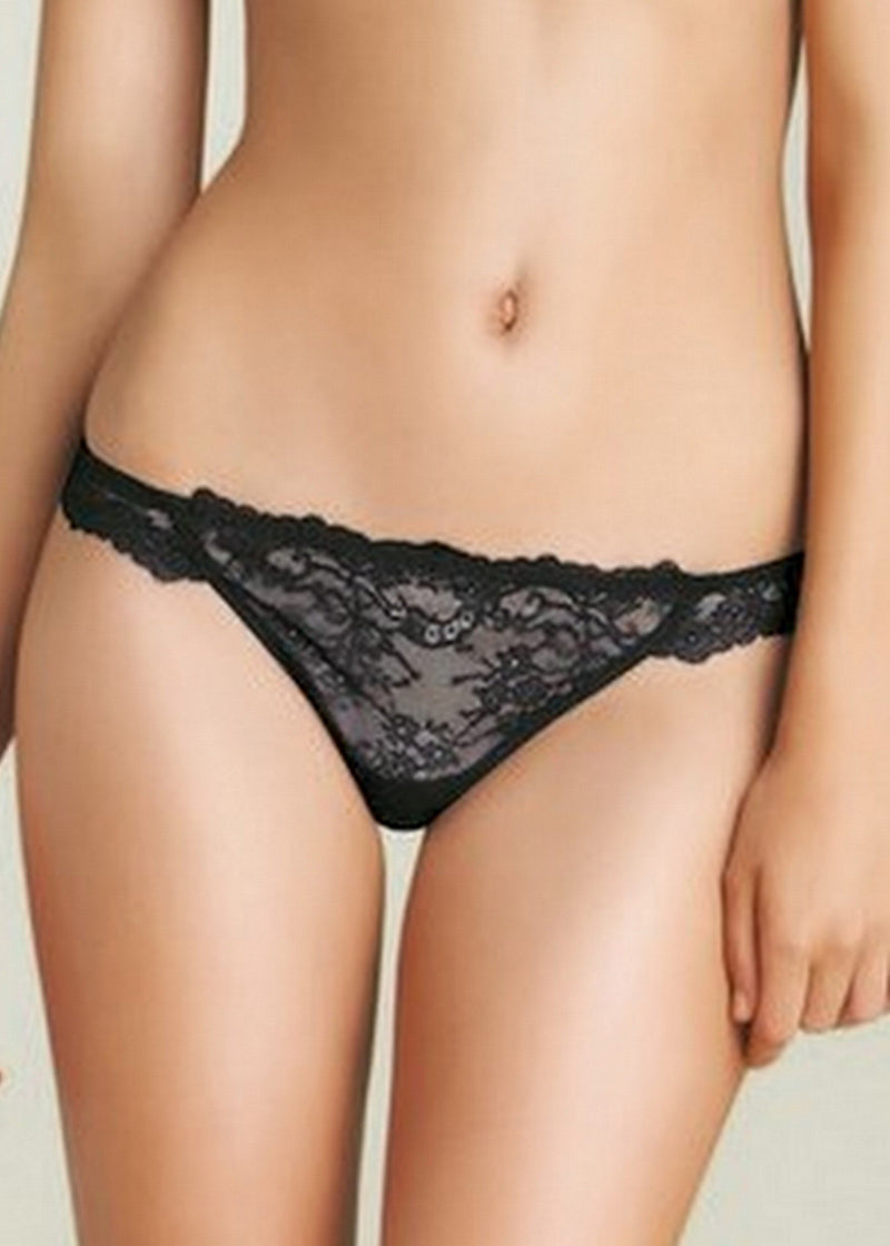 FMO Lace Lace Thong-Bottoms-Pleasure State-AvecAmourLingerie