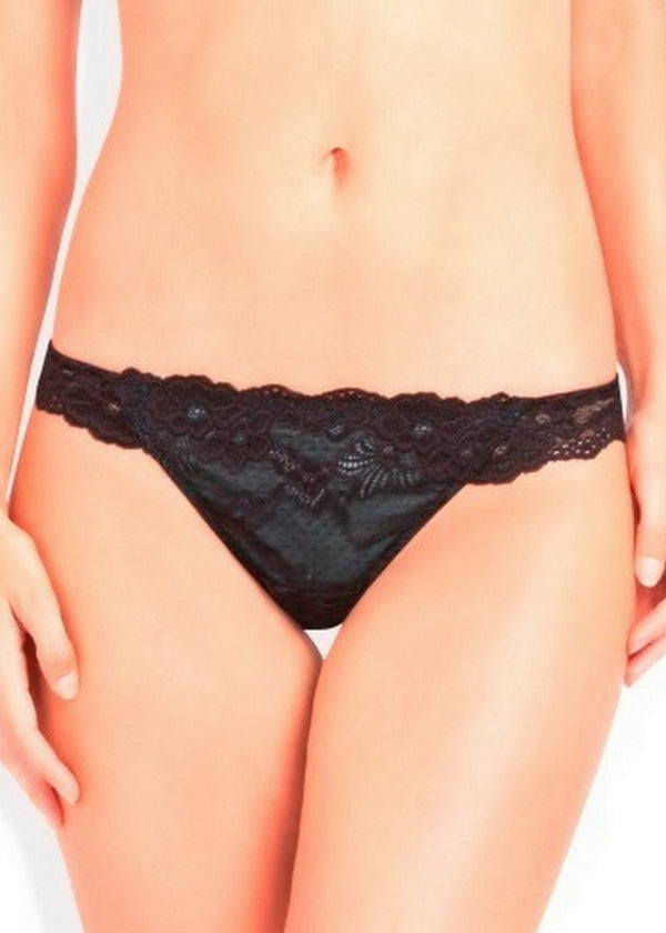 OMB Lace Thong (Everyglade)-Bottoms-Pleasure State-AvecAmourLingerie
