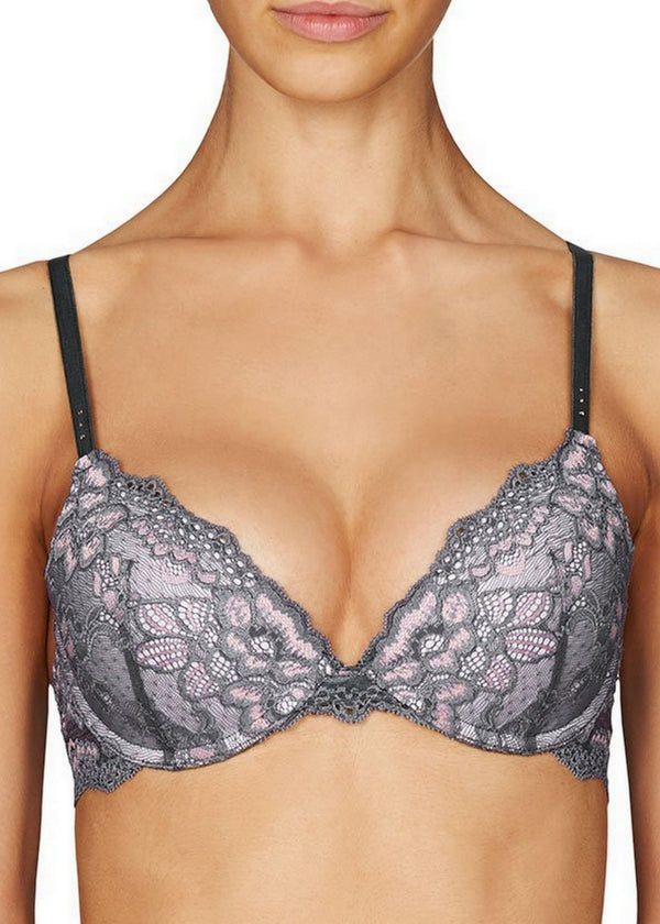 MyFit Lace Push Up Plunge Bra-Bras-Pleasure State-AvecAmourLingerie