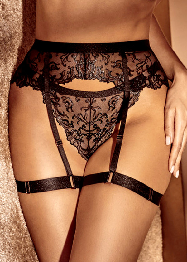 Vienna Harness Garter-Bottoms-Bracli-AvecAmourLingerie