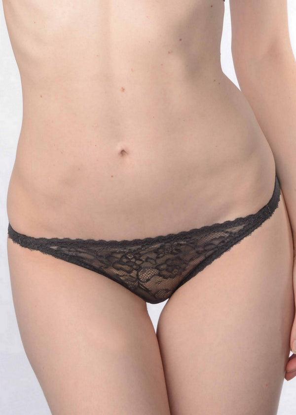 Yasmin Calling (CHAR) Bikini Brief-Bottoms-Stella McCartney Lingerie-AvecAmourLingerie
