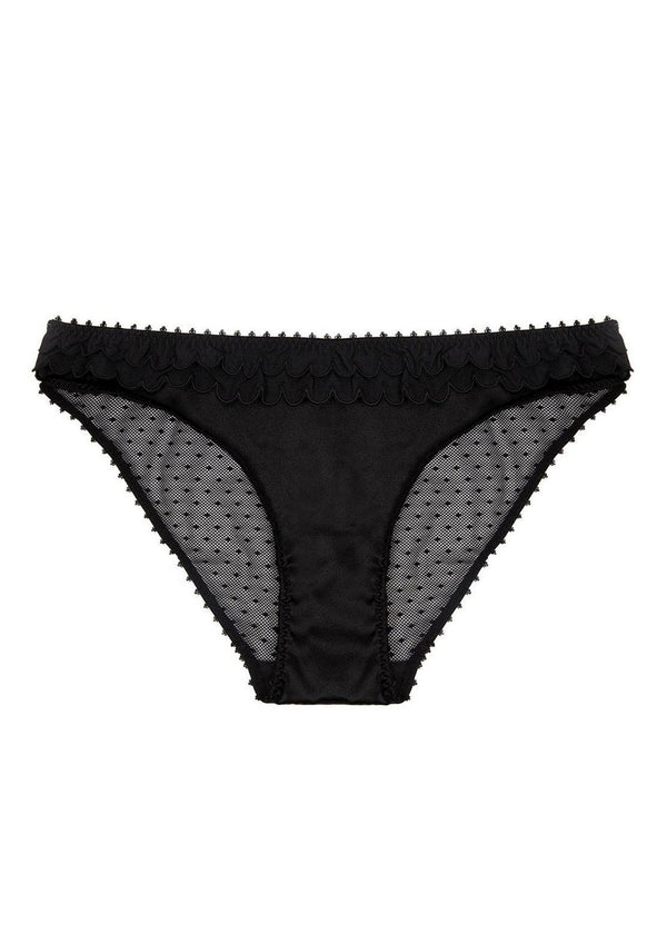 Becky Smiling (BLAK) Bikini-Bottoms-Stella McCartney Lingerie-AvecAmourLingerie