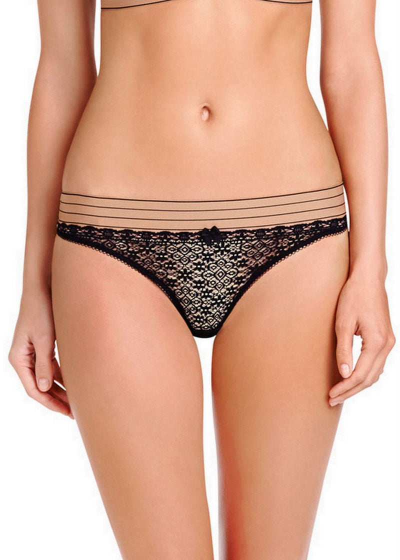 Millie Drawing (BLAK) Bikini-Bottoms-Stella McCartney Lingerie-AvecAmourLingerie