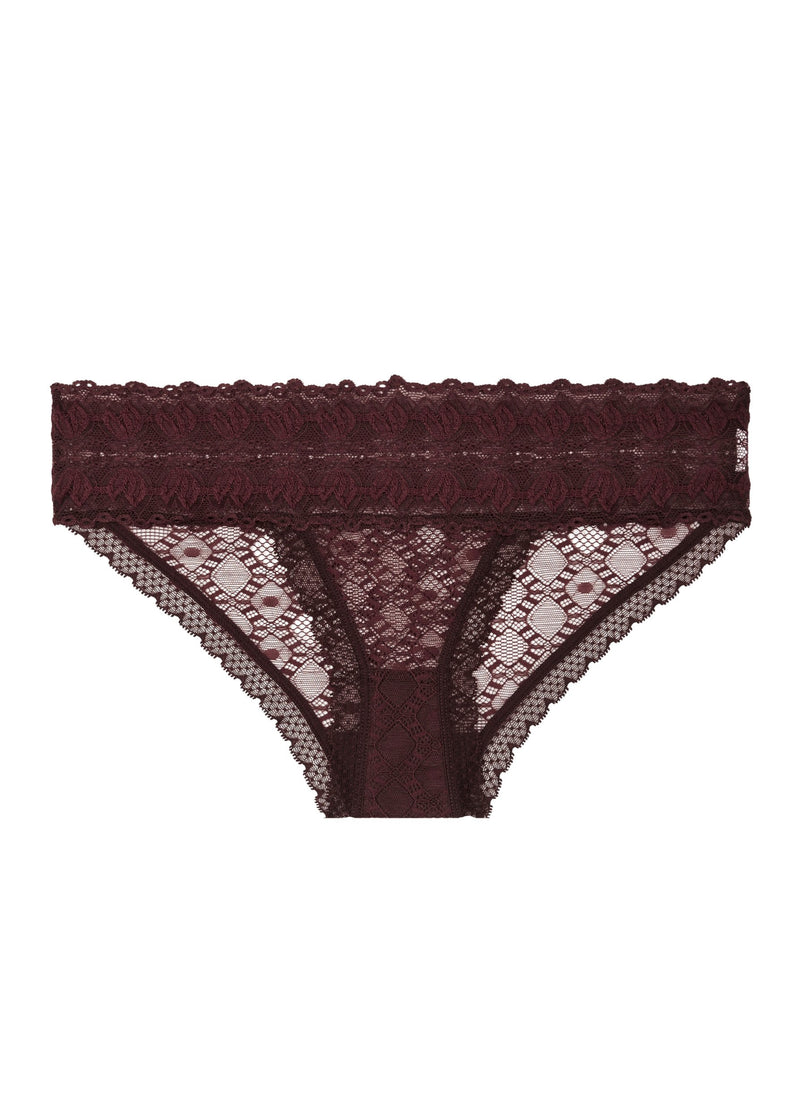Jasmine Inspiring (Garnet Red) Bikini Brief-Bottoms-Stella McCartney Lingerie-AvecAmourLingerie