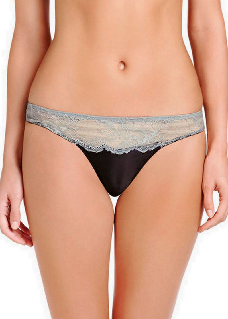 Julia Stargazing Thong Brief (Cambridge Blue)-Bottoms-Stella McCartney Lingerie-AvecAmourLingerie