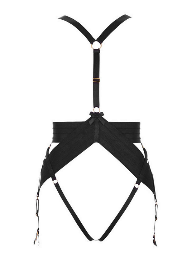 Asobi (Black) Harness-Bodywear-Bordelle-AvecAmourLingerie
