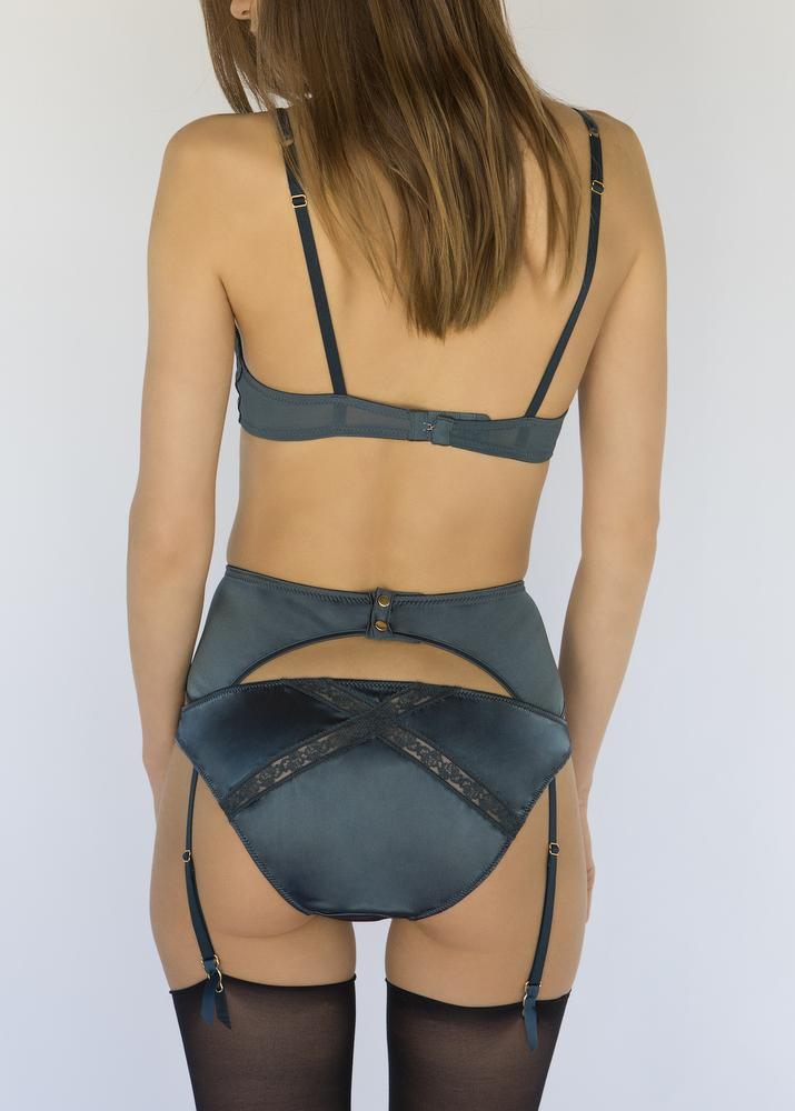 Peacock Classic Knicker-Bottoms-Mimi Holliday-AvecAmourLingerie