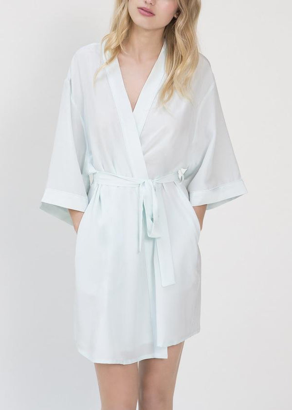 Hummingbird Midi Dressing Gown-Bodywear-Mimi Holliday-AvecAmourLingerie