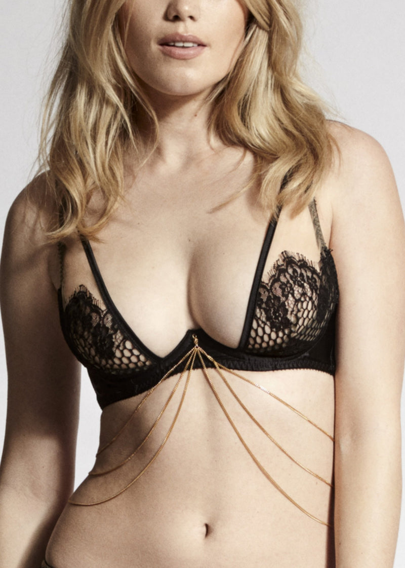 Benjamin Triple Bra Chain-Accessories-Edge O' Beyond-AvecAmourLingerie