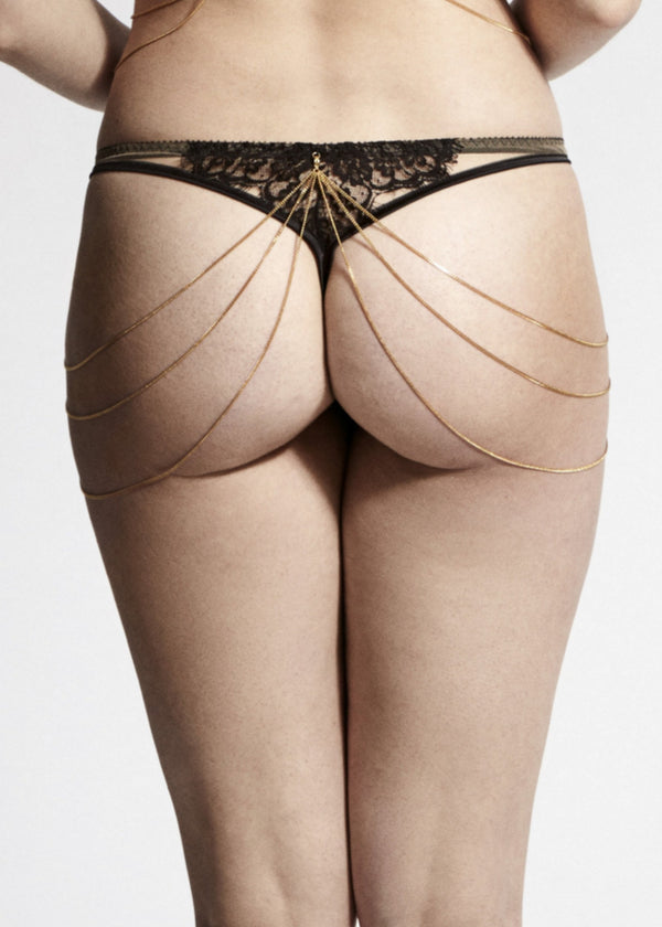 Joshua Triple Panty Chain-Accessories-Edge O' Beyond-AvecAmourLingerie