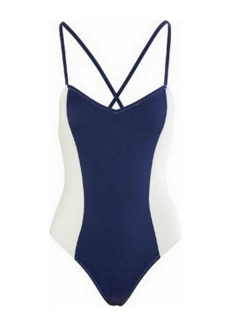The Diana One Piece Swimwear-Swimwear-Solid & Striped-AvecAmourLingerie