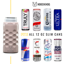 Load image into Gallery viewer, The Skinny Can Cooler [Blush Glitter]