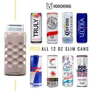 The Skinny Can Cooler [Blush Glitter]