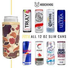 Load image into Gallery viewer, The Skinny Can Cooler [Old School Camo]