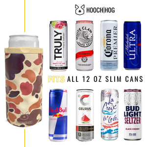 The Skinny Can Cooler [Old School Camo]