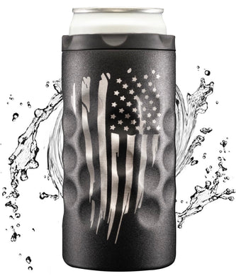 The Skinny Can Cooler [Patriot Edition Black]