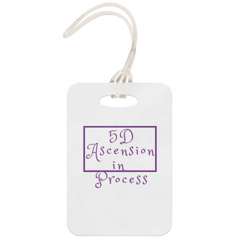 5D Ascension Luggage Tag
