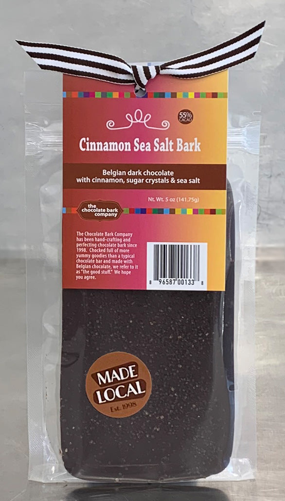 Cinnamon Sea Salt Bark