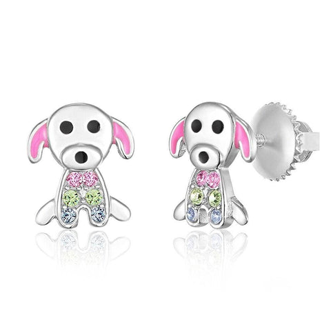 Chanteur - Dog Screwback Earring