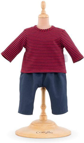 "Corolle 12"" doll outfit- blouse & pants"