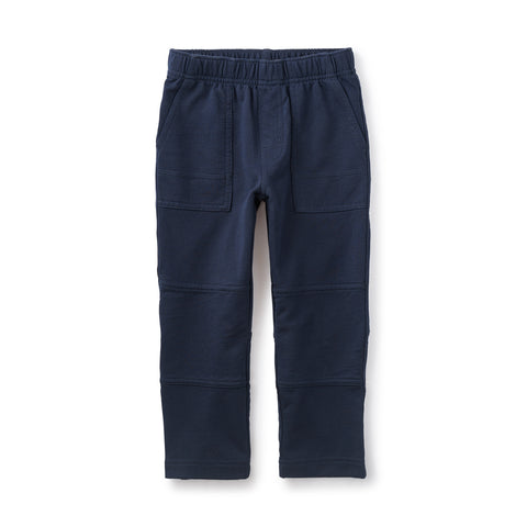 Tea French Terry Playwear Pant- Heritage Blue