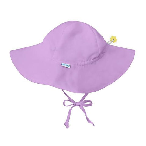 Green Sprouts Toddler Solid Brim Sun Protection Hat- Lavender