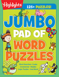 Highlights Jumbo Book of Word Puzzles